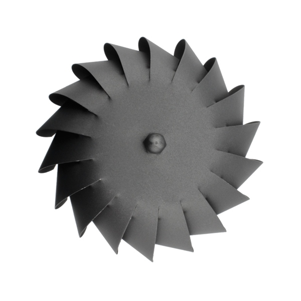 Chapeau extracteur cheminée rotatif éolien Noir-Anthracite diamètre 120