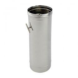 Tuyau de cheminée modérateur tirage diamètre 120