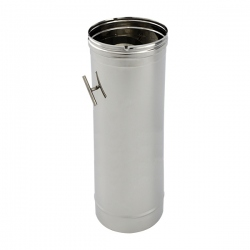 Tuyau de cheminée modérateur tirage diamètre 125