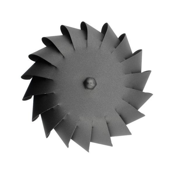Extracteur fumée éolien conduit double paroi Noir diamètre 100