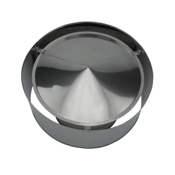 Chapeau anti-pluie conduit double paroi diamètre 200-250