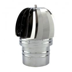Chapeau extracteur fumée conduit double paroi PRO Ø125-175