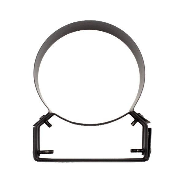 Collier support noir/anthracite réglable 4/8 cm Ø100