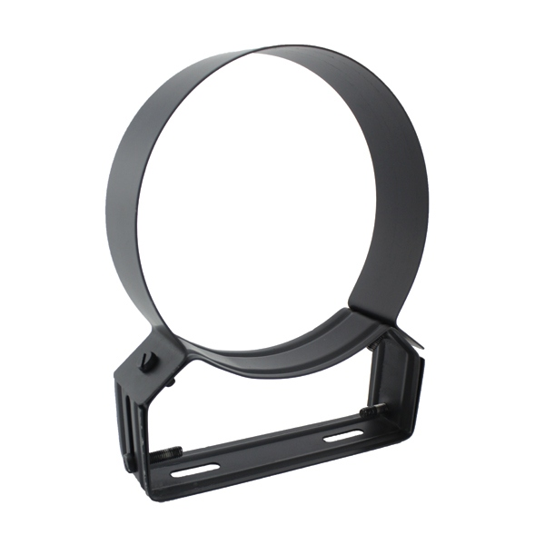 Collier support noir/anthracite réglable 4/8 cm Ø300