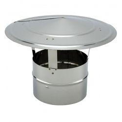 Tubage cheminée - Chapeau chinois simple paroi PRO Ø125