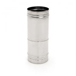 Tuyau cheminee téléscopique 25/40CM simple paroi industriel