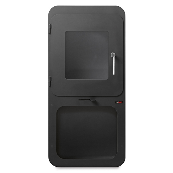 Poêle à bois Cube Box 10Kw 71% - RedPod