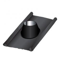 Solin d'étanchéité cheminée en plomb Noir / Anthracite 175