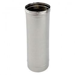 Tubage cheminée - Tuyau 1M simple paroi PRO Ø120