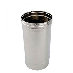 Tuyau cheminée et poêle en inox diamètre 150 - Tubage cheminée