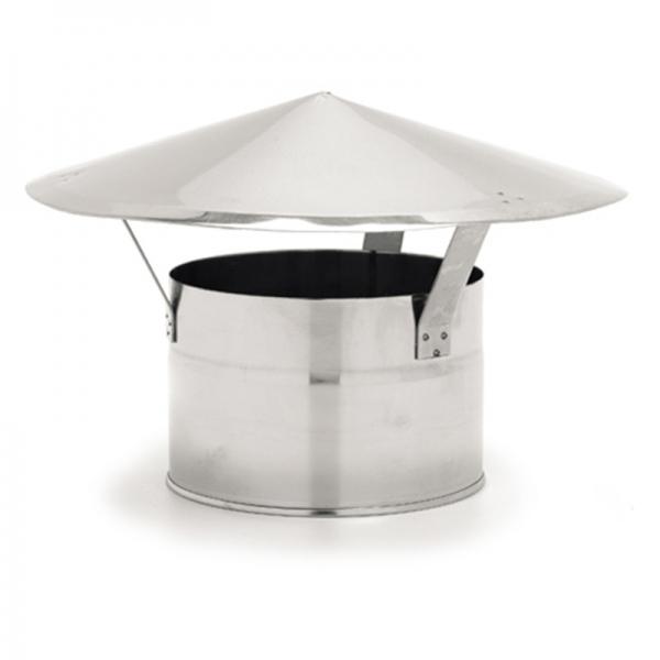 Chapeau conduit chemin e diam 180 mm pas cher for Chapeau de conduit de cheminee