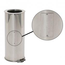Tuyau à test CO2 pour tubage de conduit de cheminée REN