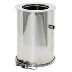 Tuyau d'évacuation condensation tubage de conduit de cheminée double paroi REN