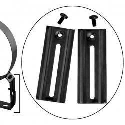 Rallonge pied d'appui de collier réglable 9 a 16 cm