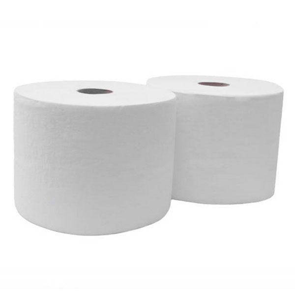 Rouleau de papier texturé industrielle essuie main absorbant 500 mètres