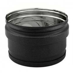 Bouchon cheminée Inox SP Noir-Anthracite diamètre 160