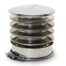 Chapeau anti-refoulement Inox-Inox 304 CloseTop Ø80-130
