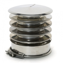 Chapeau anti-refoulement Inox-Inox 304 CloseTop Ø200-250