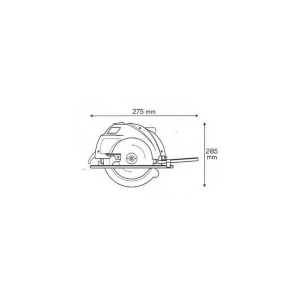 Scie circulaire 1200W 185MM - VITO