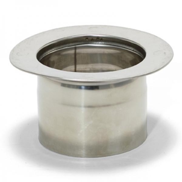 adaptateur tubage simple 100 double paroi r novation 100 150 trachemin e. Black Bedroom Furniture Sets. Home Design Ideas