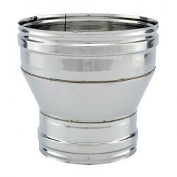Réducteur tubage cheminée diamètre 110-100