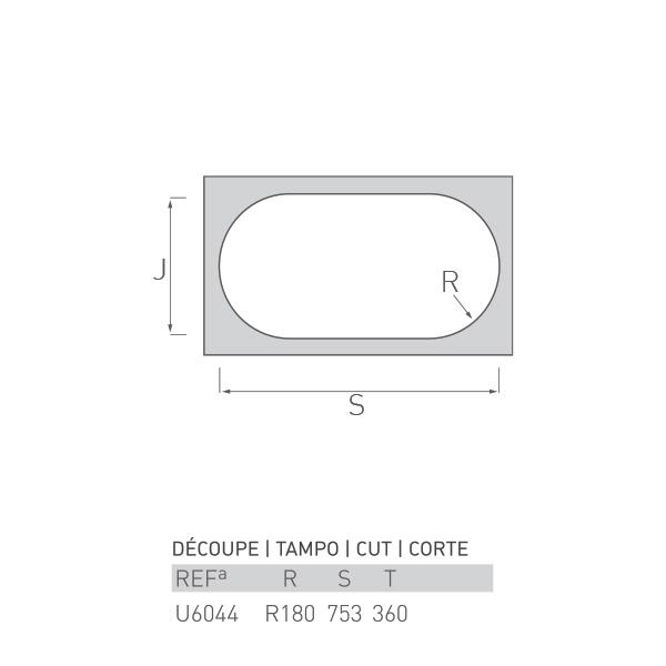 Évier inox sous plan SATELLITE 2 bacs 80 X Ø36