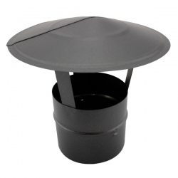 Chapeau pour tubage de conduit de cheminée diamètre 100