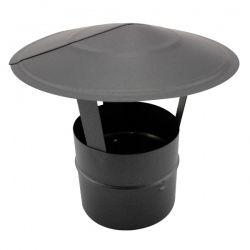 Chapeau pour tubage de conduit de cheminée diamètre 125