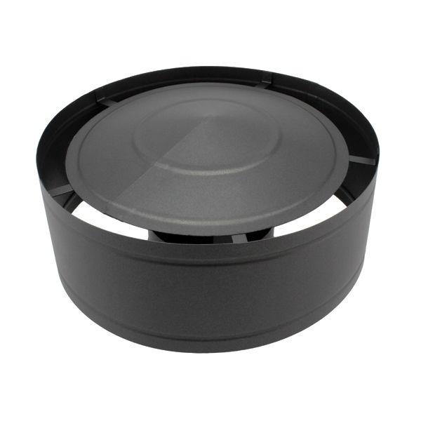 chapeau chemin e anti pluie noir anthracite 130. Black Bedroom Furniture Sets. Home Design Ideas