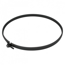 Collier Sécurité Tubage Noir/Anthracite Ø100