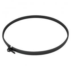 Collier Sécurité Tubage Noir/Anthracite Ø200