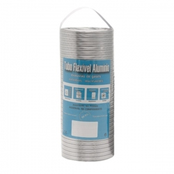 Gaine aluminium extensible à 1,5M Ø90