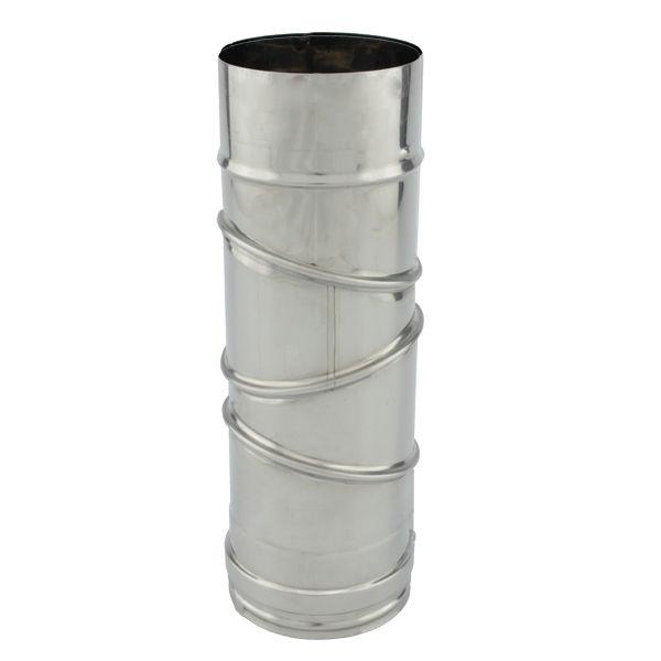 Tubage cheminée PRO - Coude réglable 0° à 90° simple paroi Ø80